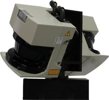 continously rotating 3D Lascerscanner